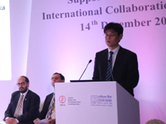 Opening remarks by Hayashidani, Chief   Representative of JBIC's New Delhi Office